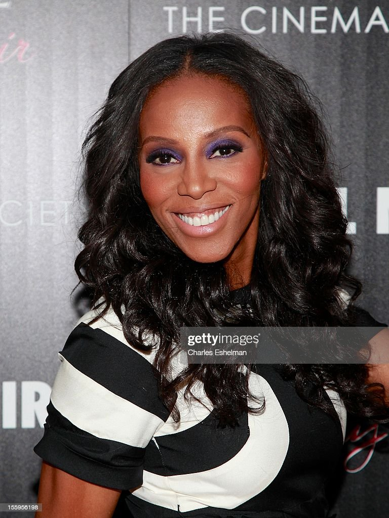 Stylist June Ambrose attends Gato Negro Films & The Cinema Society screening of 'Hotel Noir' at the Crosby Street Hotel on November 9, 2012 in New York City.