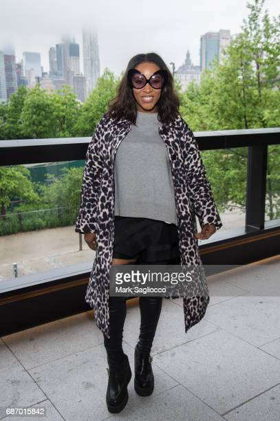 Stylist June Ambrose attends Gotham Magazine's Celebration of it's Late Spring Issue with Noah Syndergaard at 1 Hotel Brooklyn Bridge on May 22 2017...