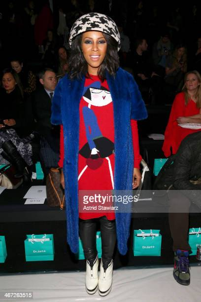Stylist June Ambrose attends Richard Chai fashion show during MercedesBenz Fashion Week Fall 2014 at The Salon at Lincoln Center on February 6 2014...