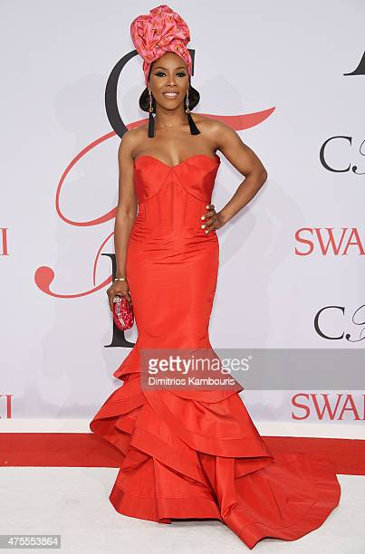 Stylist June Ambrose attends the 2015 CFDA Fashion Awards at Alice Tully Hall at Lincoln Center on June 1 2015 in New York City