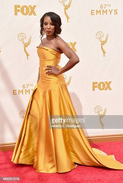 Stylist June Ambrose attends the 67th Emmy Awards at Microsoft Theater on September 20 2015 in Los Angeles California 25720_001