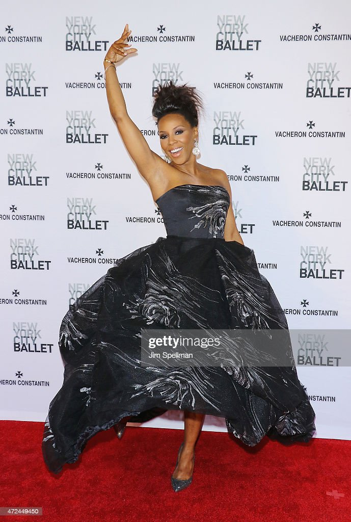 Stylist June Ambrose attends the New York City Ballet 2015 spring gala at David H. Koch Theater, Lincoln Center on May 7, 2015 in New York City.