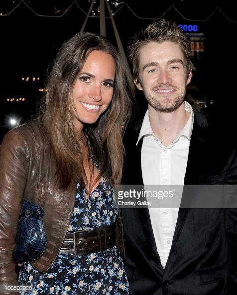 Stylist Louise Roe and actor Robert Buckley attend the E 20th anniversary party celebrating two decades of pop culture with Ciroc Ultra Premium Vodka...