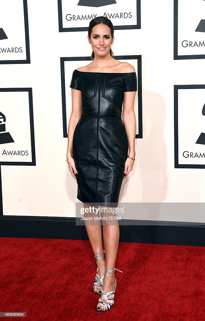 Stylist Louise Roe attends The 57th Annual GRAMMY Awards at the STAPLES Center on February 8 2015 in Los Angeles California