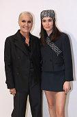 Dior : Front Row -  Paris Fashion Week - Womenswear...