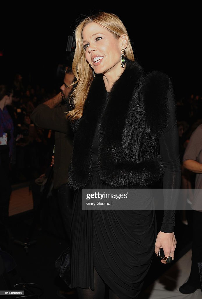 Stylist Mary Alice Stephenson attends the Carolina Herrera fashion show during Fall 2013 Mercedes-Benz Fashion Week at The Theatre at Lincoln Center on February 11, 2013 in New York City.