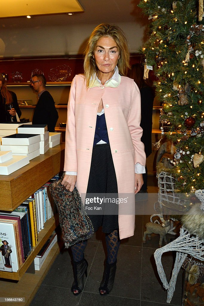Stylist Maryam Mahdavi attends 'Home' India Madhavi and Soline Delos Book Launch at Musee Arts Decoratif Bookshop on November 22, 2012 in Paris, France.
