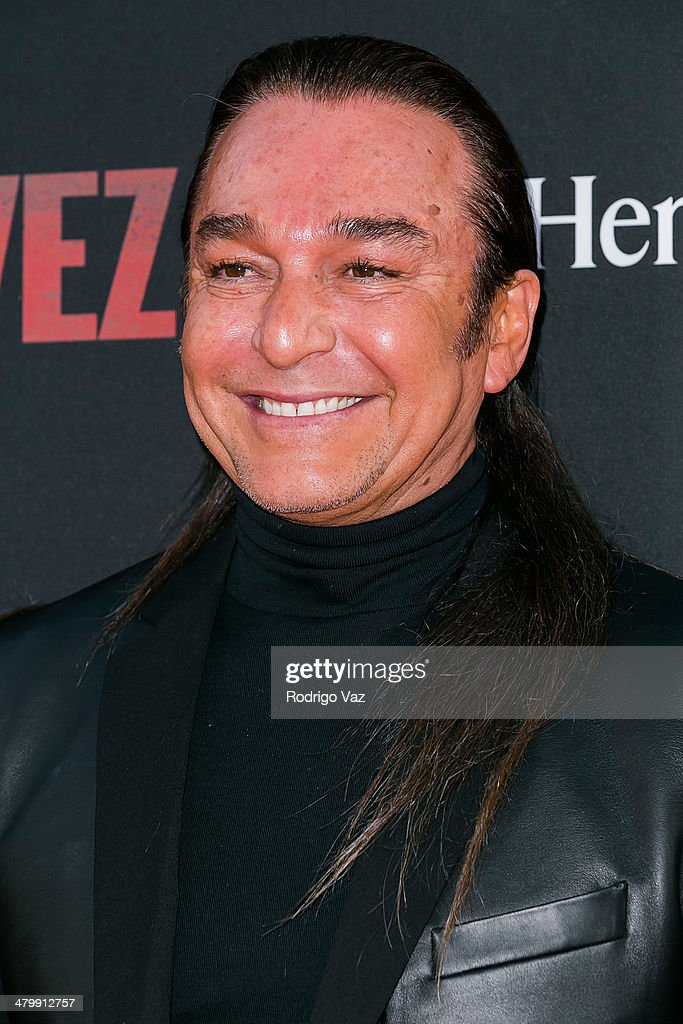 Stylist Nick Chavez attends the 'Cesar Chavez' Los Angeles Premiere at TCL Chinese Theatre on March 20, 2014 in Hollywood, California.