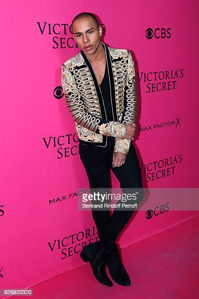 Stylist of Balmain Olivier Rousteing attends the 2016 Victoria's Secret Fashion Show Held at Grand Palais on November 30 2016 in Paris France