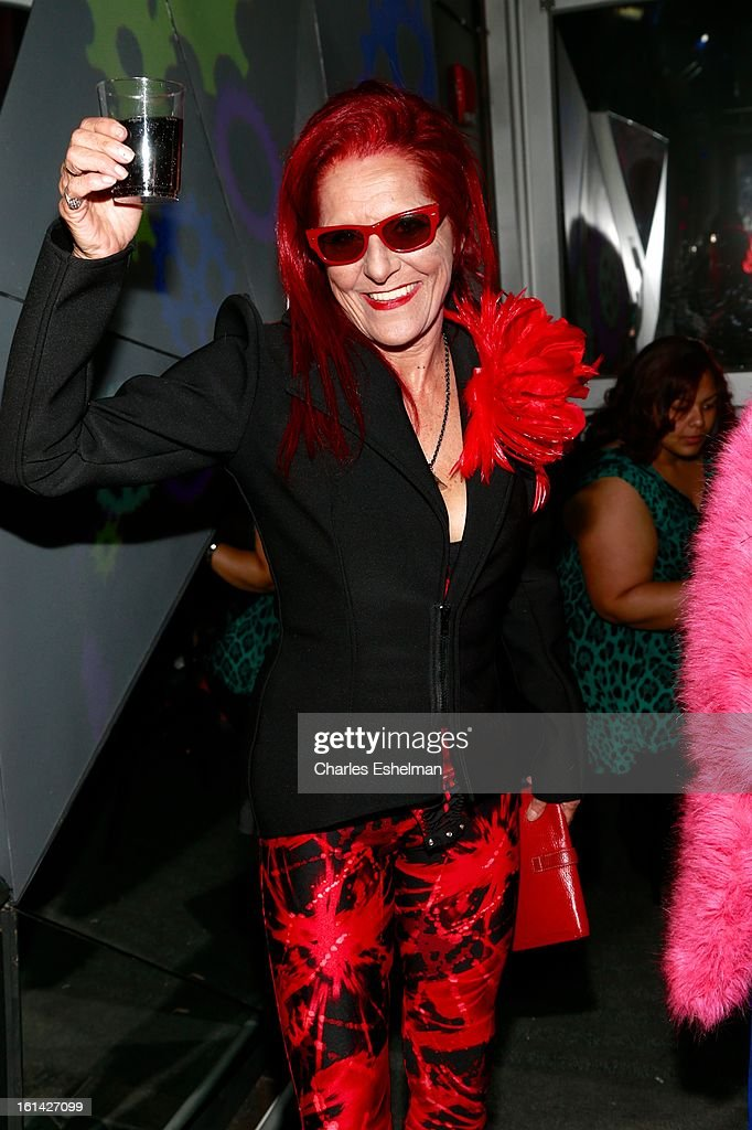 Stylist Patricia Field celebrates birthday at the T @ Toy Party on February 10, 2013 in New York City.