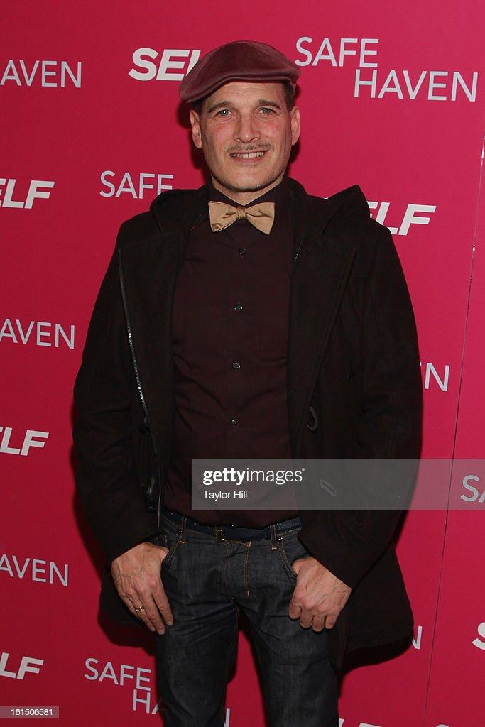 Stylist Phillip Bloch attends a New York screening of 'Safe Haven' at Landmark Sunshine Cinema on February 11, 2013 in New York City.
