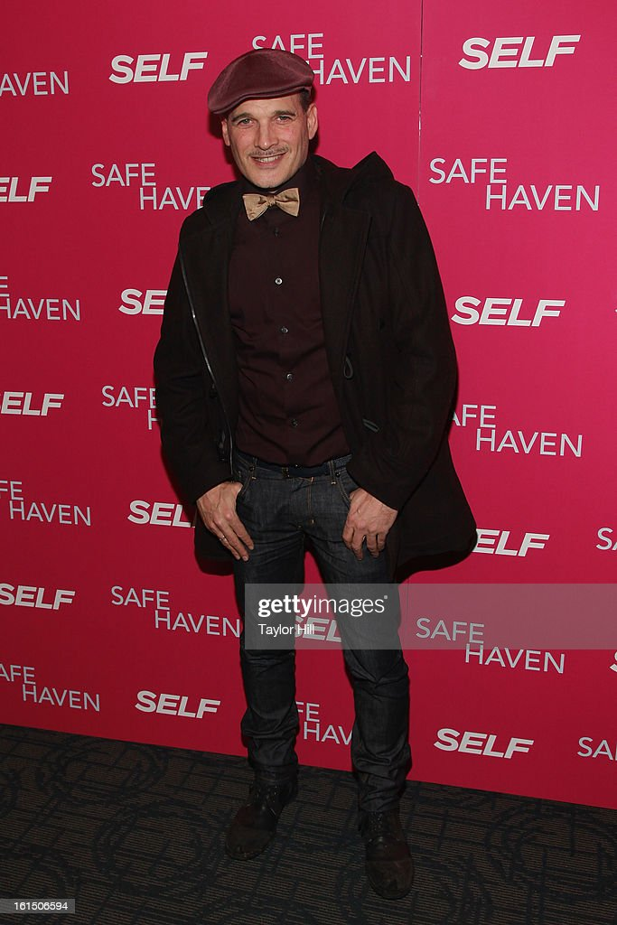 Stylist Phillip Bloch attends a New York screening of 'Safe Haven' at Landmark Sunshine Cinema on February 11, 2013 in New York City.