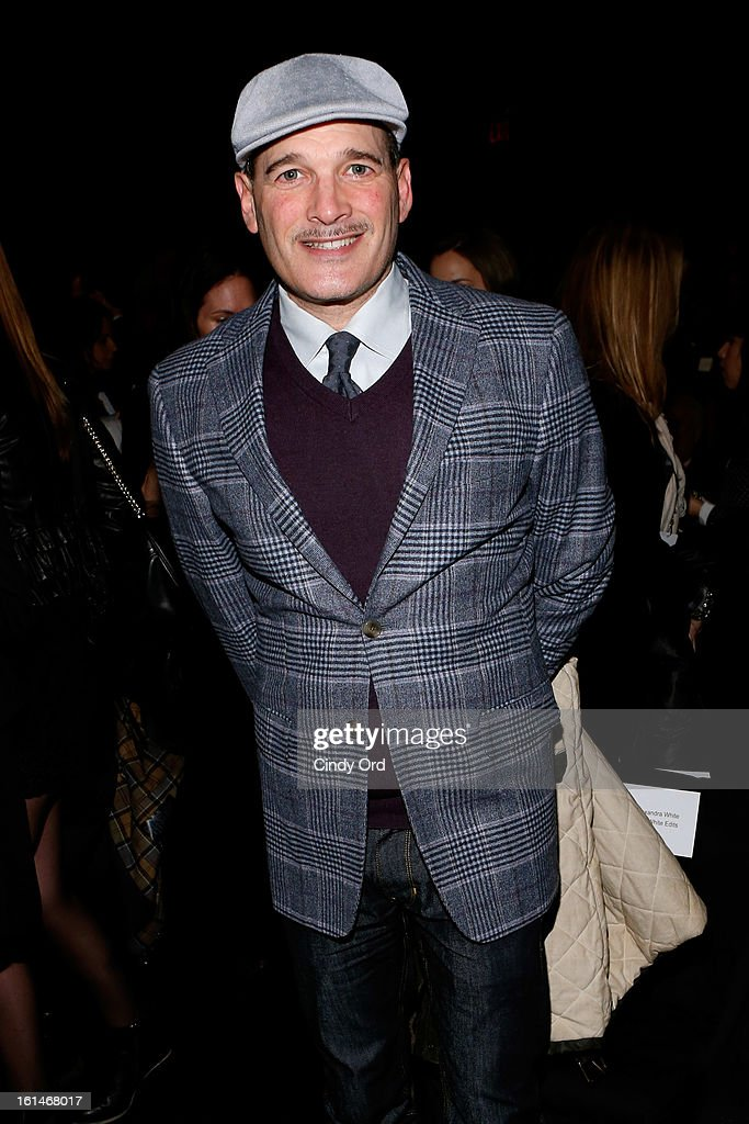 Stylist Phillip Bloch attends the Carolina Herrera Fall 2013 fashion show during Mercedes-Benz Fashion Week at The Theatre at Lincoln Center on February 11, 2013 in New York City.