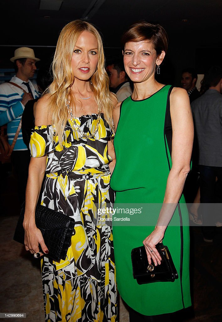 Stylist <a gi-track='captionPersonalityLinkClicked' href=/galleries/search?phrase=Rachel+Zoe+-+Stylist&family=editorial&specificpeople=546501 ng-click='$event.stopPropagation()'>Rachel Zoe</a> (L) and Editor-in-Chief, Glamour magazine, Cindi Leive celebrate Glamour's new book 'Thirty Things Every Woman Should Have and Should Know by the Time She's 30' on April 16, 2012 in West Hollywood, California.