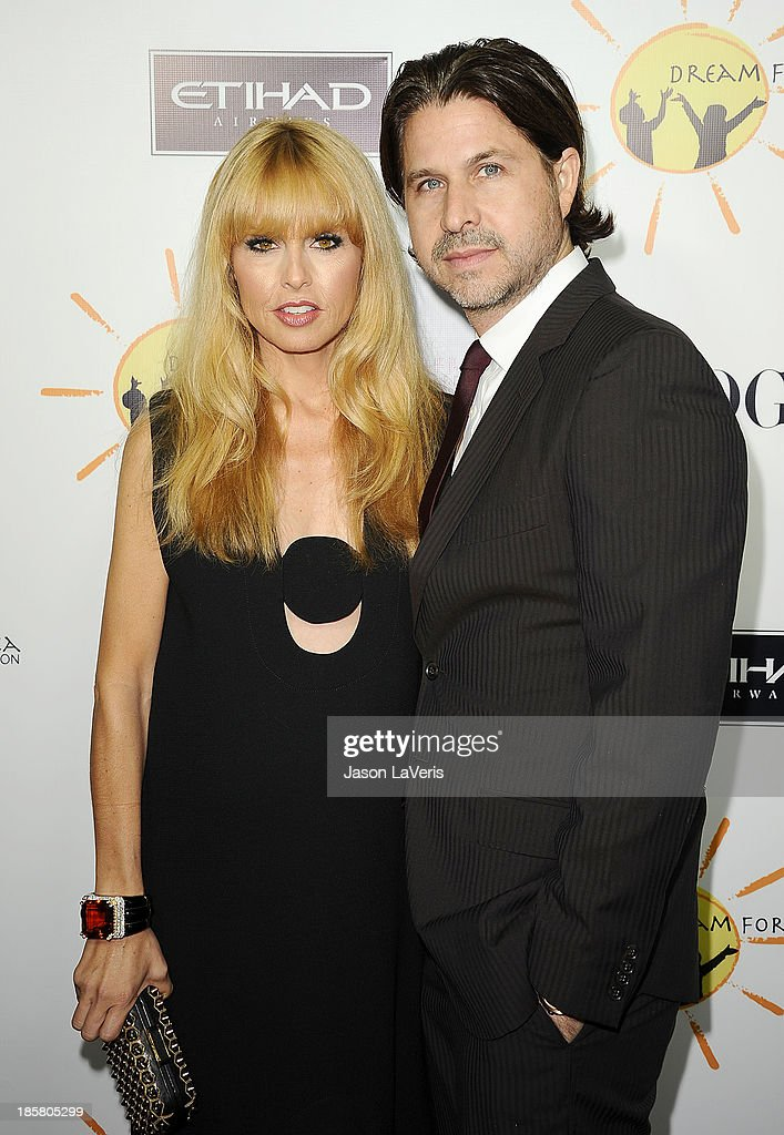Stylist Rachel Zoe and husband <a gi-track='captionPersonalityLinkClicked' href=/galleries/search?phrase=Rodger+Berman&family=editorial&specificpeople=4104059 ng-click='$event.stopPropagation()'>Rodger Berman</a> attend the Dream For Future Africa Foundation gala at Spago on October 24, 2013 in Beverly Hills, California.