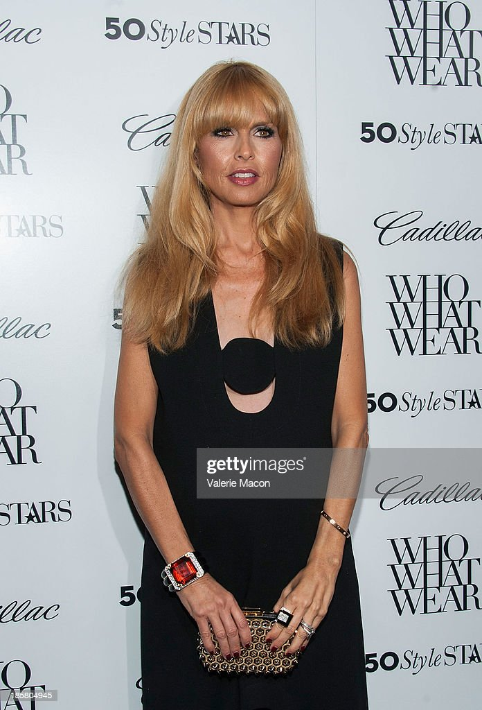 Stylist Rachel Zoe arrives at the Who What Wear And Cadillac's 50 Most Fashionable Women Of 2013 Event at The London Hotel on October 24, 2013 in West Hollywood, California.