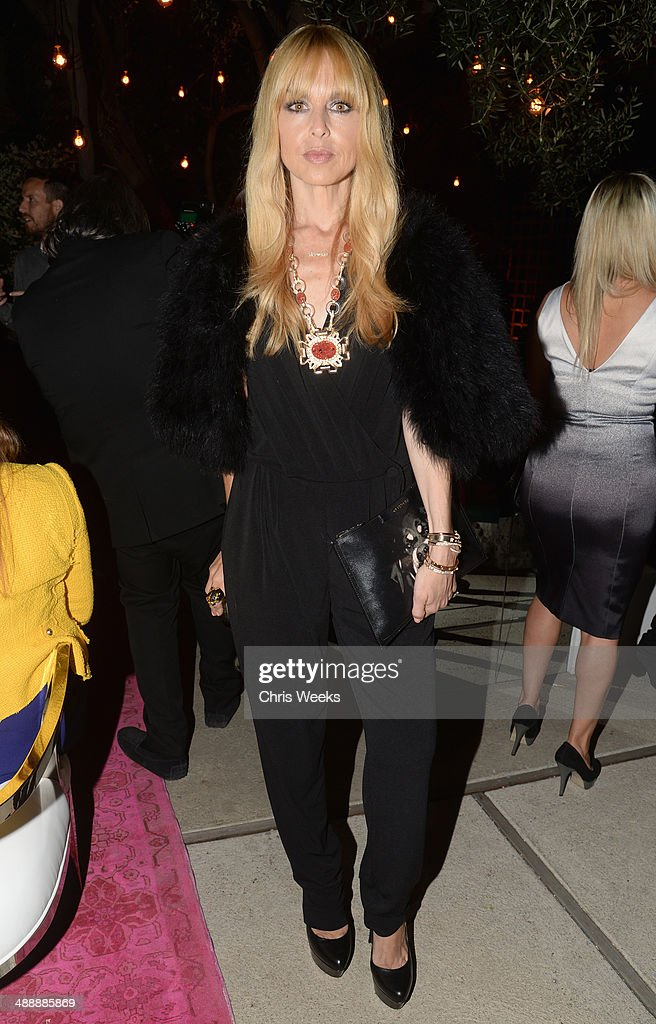 Stylist Rachel Zoe attends Chrome Hearts & Kate Hudson Host Garden Party To Celebrate Collaboration at Chrome Hearts on May 8, 2014 in Los Angeles, California.