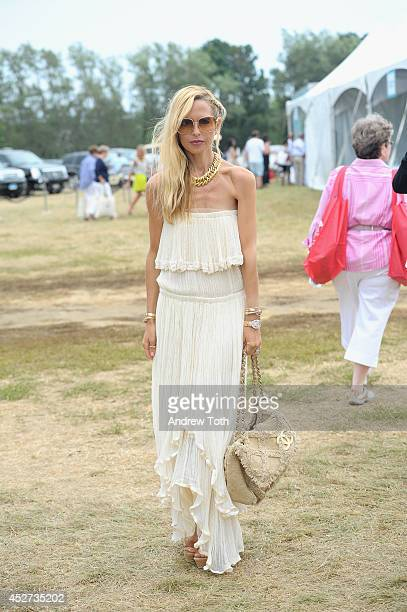 Stylist Rachel Zoe attends FIJI Water at Super Saturday CoHosted by Kelly Ripa and Donna Karan on July 26 2014 in Water Mill New York