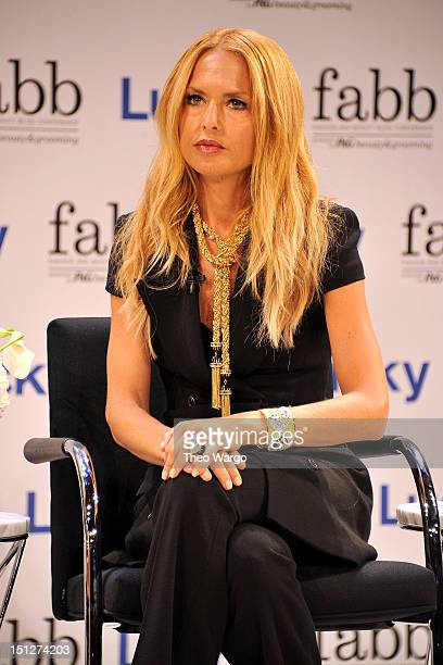 Stylist Rachel Zoe attends Lucky Magazine Hosts FABB Fashion and Beauty Blog Conference presented by PG Beauty Grooming on September 5 2012 in New...