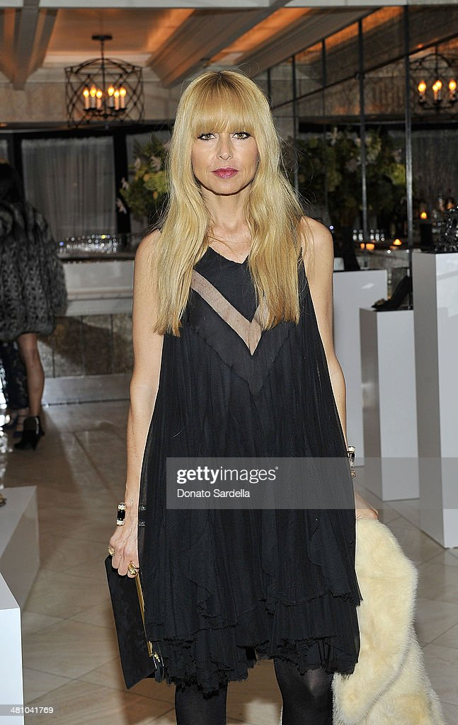 Stylist <a gi-track='captionPersonalityLinkClicked' href=/galleries/search?phrase=Rachel+Zoe+-+Stylist&family=editorial&specificpeople=546501 ng-click='$event.stopPropagation()'>Rachel Zoe</a> attends Nicholas Kirkwood dinner hosted by Emma Roberts and Jake Shears at Hotel Bel-Air on March 27, 2014 in Los Angeles, California.