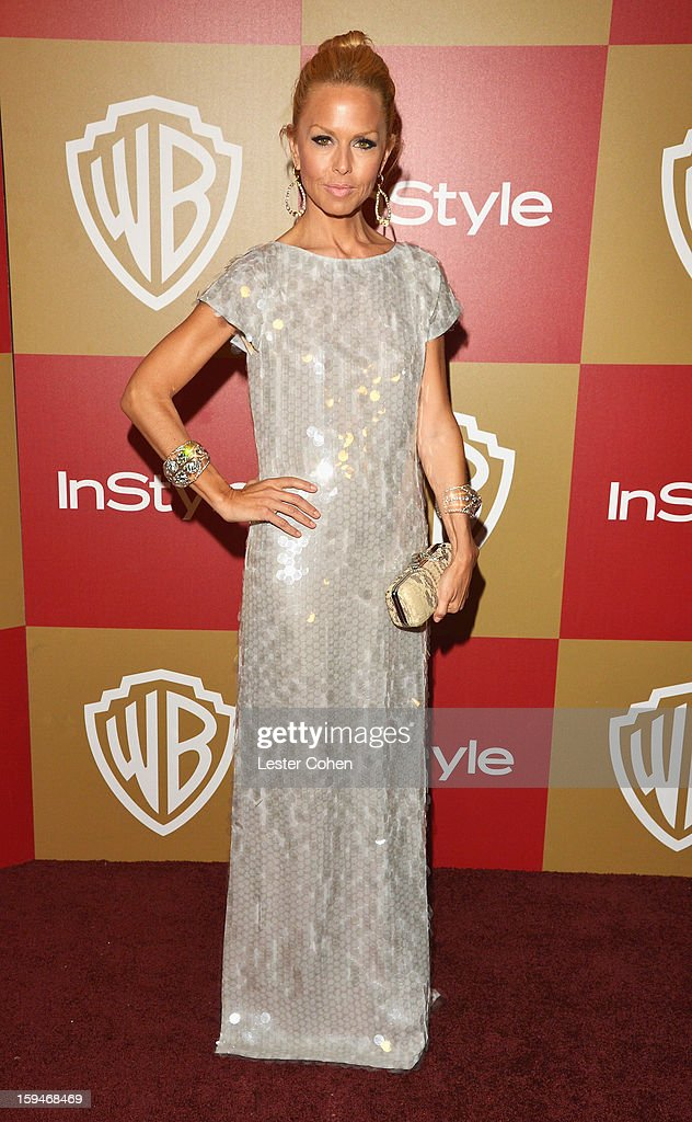Stylist Rachel Zoe attends the 2013 InStyle and Warner Bros. 70th Annual Golden Globe Awards Post-Party held at the Oasis Courtyard in The Beverly Hilton Hotel on January 13, 2013 in Beverly Hills, California.