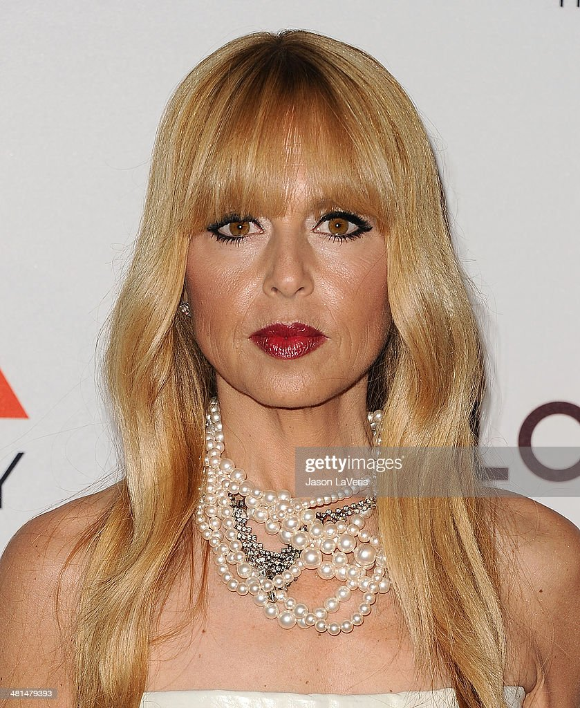 Stylist Rachel Zoe attends the MOCA 35th anniversary gala celebration at The Geffen Contemporary at MOCA on March 29, 2014 in Los Angeles, California.