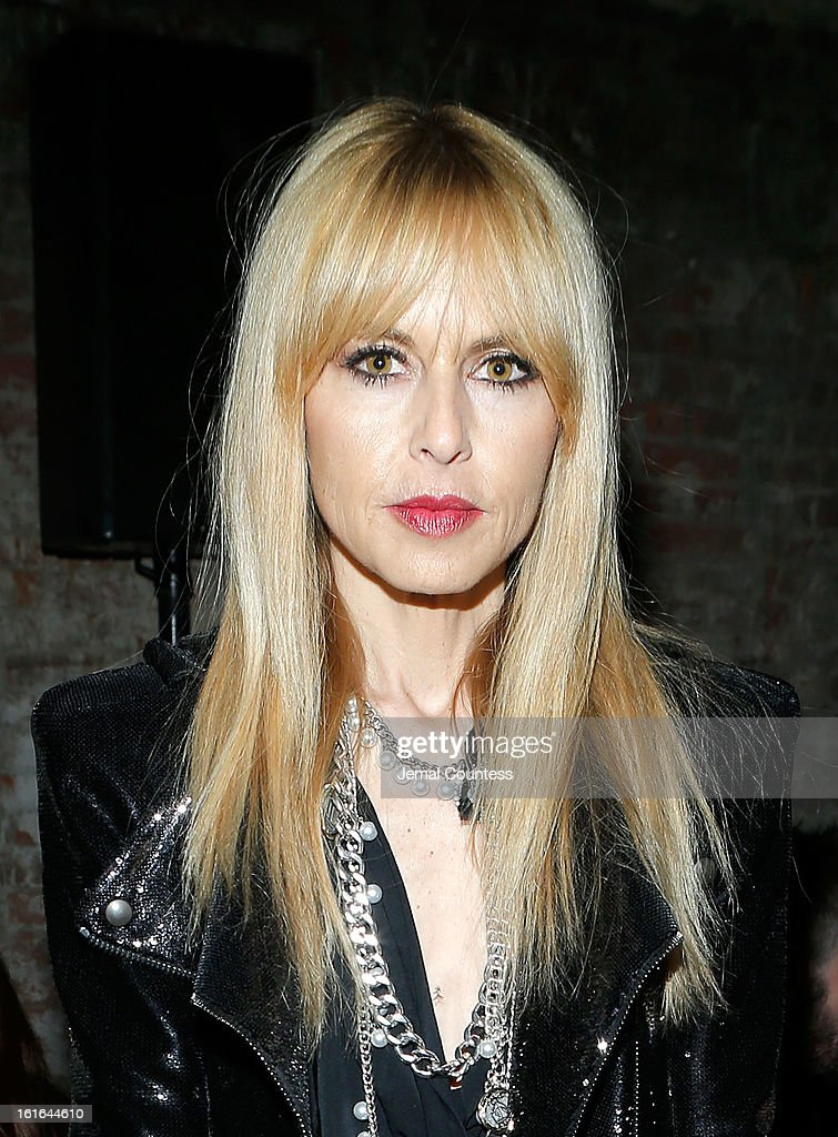 Stylist <a gi-track='captionPersonalityLinkClicked' href=/galleries/search?phrase=Rachel+Zoe+-+Stylist&family=editorial&specificpeople=546501 ng-click='$event.stopPropagation()'>Rachel Zoe</a> attends the Proenza Schouler fall 2013 fashion show during Mercedes-Benz Fashion Week on February 13, 2013 in New York City.