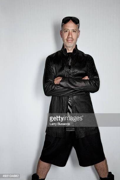 Stylist Robert Verdi attends The Daily Front Row's Third Annual Fashion Media Awards at the Park Hyatt New York on September 10 2015 in New York City