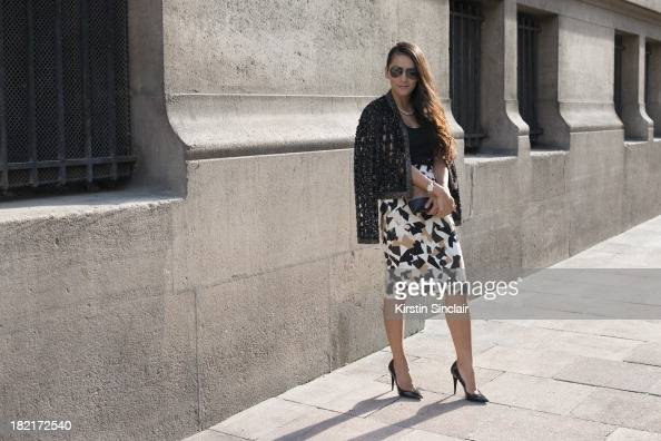 669161fb6582 Street Style Day 4 - Paris Fashion Week, Womenswear Spring/Summer 2014  Photos and Images | Getty Images