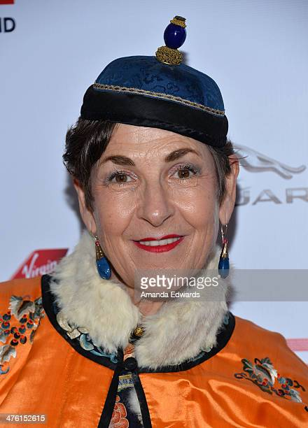 Stylist Tziporah Salamon arrives at the GREAT British Film Reception honoring the British nominees of The 86th Annual Academy Awards at the British...