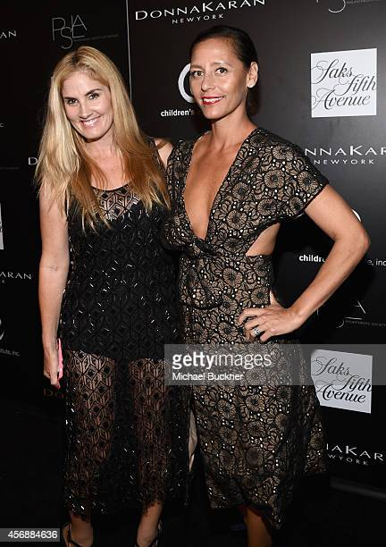 Stylist/designer Mary Alice Haney and Le Catch's Marlien Rentmeester attend the fifth annual PSLA Autumn Party benefiting Children's Institute Inc...