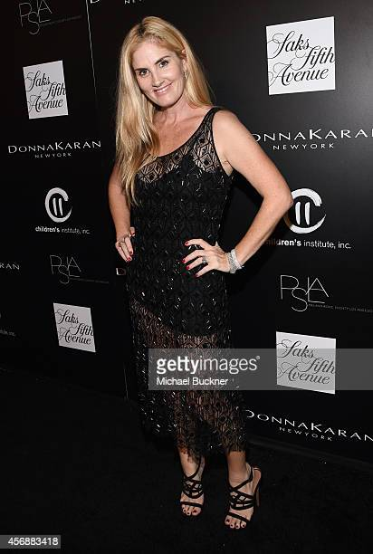 Stylist/designer Mary Alice Haney attends the fifth annual PSLA Autumn Party benefiting Children's Institute Inc sponsored by Saks Fifth Avenue with...
