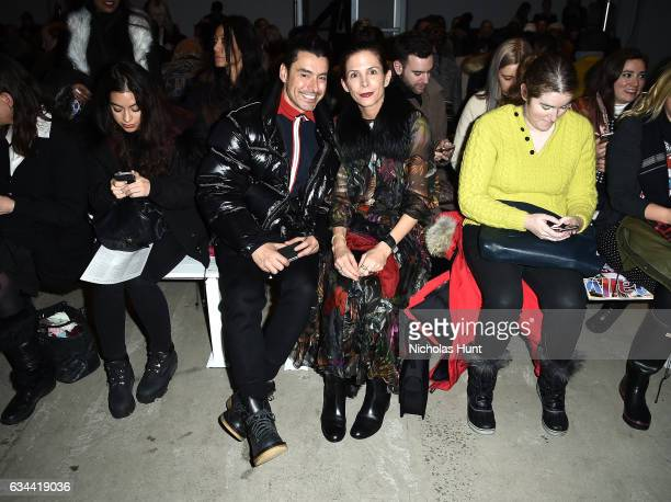 Stylists Alex Badia and Cristina Ehrlich attend the Brock Collection fashion show during New York Fashion Week The Shows at Gallery 3 Skylight...