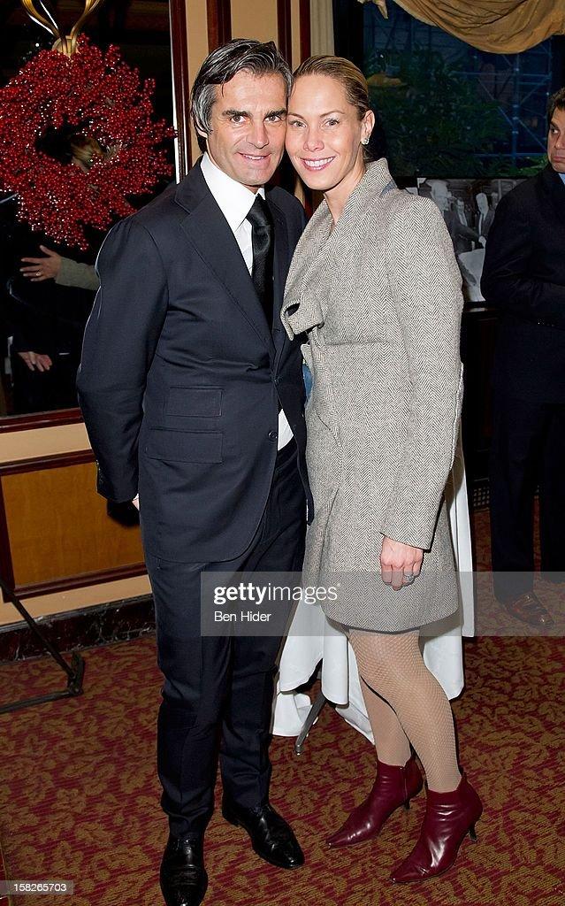 Stylists Julian Farrell and Suellen Farrell attends Loews Regency Hotel Power Breakfast Event at the Loews Regency Hotel on December 12, 2012 in New York City.