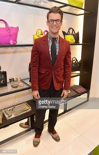 Stylist/tv personality Brad Goreski attends 'House of DVF' Season Finale with Diane von Furstenberg at The Grove on December 21 2014 in Los Angeles...