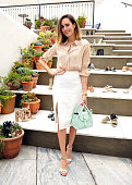 Stylist/TV Personality Louise Roe attends RAYE shoe launch event hosted by Chrissy Teigen and Hillary Kerr held At Ysabel on May 7 2015 in West...