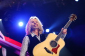 Styx lead singer Tommy Shaw performs at Target Center on April 19 2013 in Minneapolis Minnesota