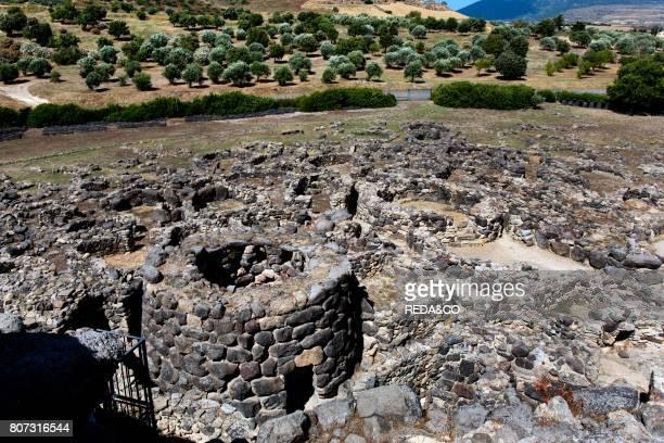 Su Nuraxi archaeological site UNESCO World Heritages Sites Barumini village Sardinia Italy Europe