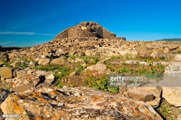 Su Nuraxi Barumini Provincia del Medio Campidano Sardinia Italy Europe
