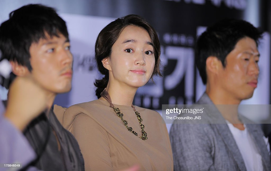 Suae attends the 'The Flu' press conference at Wangsimni CGV on August 7, 2013 in Seoul, South Korea.