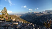 Subalpine plateau in the Sierra Nevada