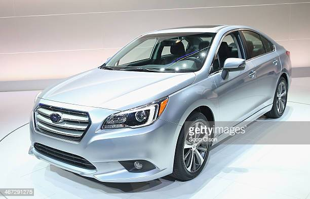 Subaru introduces the 2015 Legacy at the Chicago Auto Show on February 6 2014 in Chicago Illinois The show which is oldest and largest in the nation...