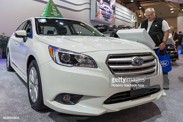 CENTRE TORONTO ONTARIO CANADA Subaru Legacy in the Canadian International AutoShow CIAS for short is Canada's largest auto show and most prestigious...