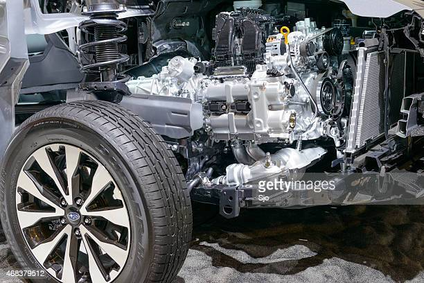 Subaru Legacy Outback Boxer engine