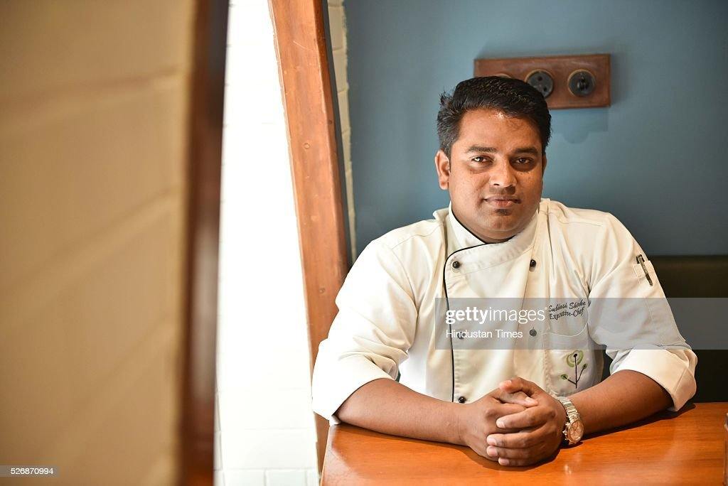 Subhash Shirke, Executive Head Chef, Woodside Inn, Colaba, during an exclusive interview with ht48hours-Hindustan Times, on April 21, 2016 in Mumbai, India.