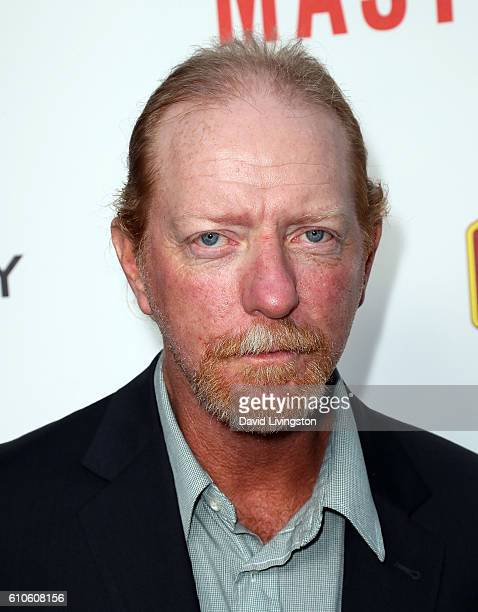 Subject of the film David Ghantt attends the premiere of Relativity Media's 'Masterminds' at TCL Chinese Theatre on September 26 2016 in Hollywood...