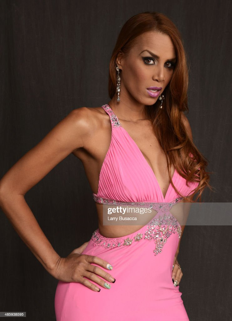Subject Rafael Ivana Fred from 'Mala Mala' poses for the Tribeca Film Festival Getty Images Studio on April 21 2014 in New York City