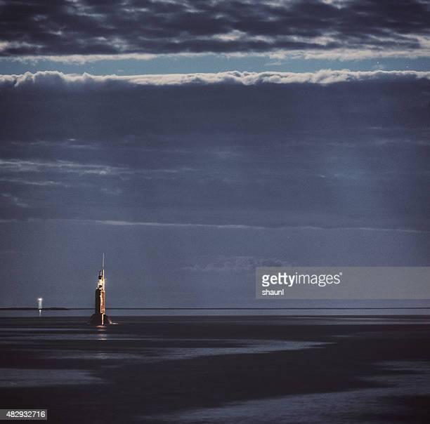 Submarine in Moonlight