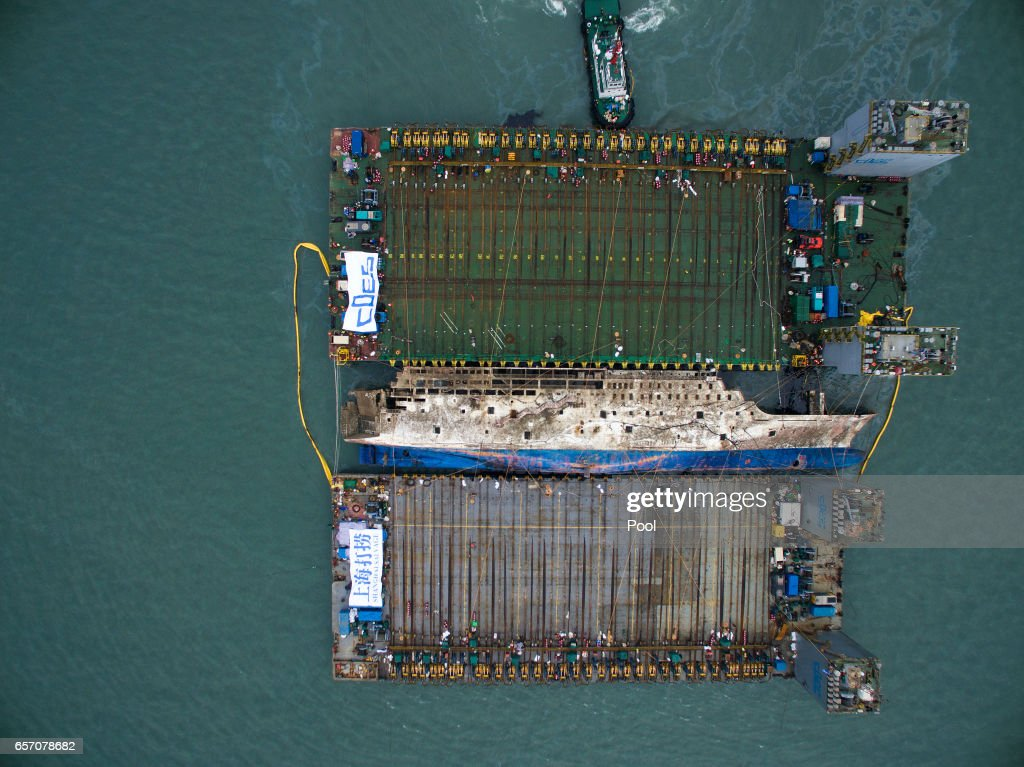 South Korea attempts to Salvage Sunken Sewol Ferry 3 Years after Disaster