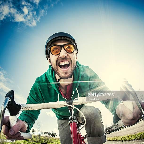 Suburban Bike Commuter